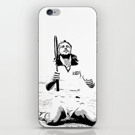 Borg Wins Wimbledon for 5th straight time iPhone Skin