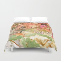 paradise Duvet Covers featuring Paradise by Robin Curtiss