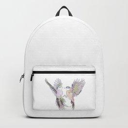 wedding birds, Birds of paradiese, Birds in love tropical bird home decor Backpack