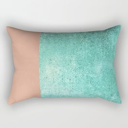 NEW EMOTIONS - ROSE & TEAL Rectangular Pillow