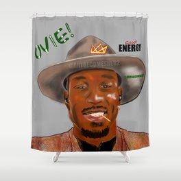 (Good) ENERGY! - Silver Edition Shower Curtain