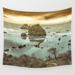 California Ocean West Coast Wall Tapestry