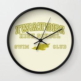 Iwatobi - Penguin Wall Clock