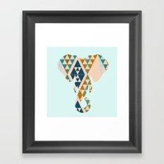 Gajraj - The Elephant Head Framed Art Print