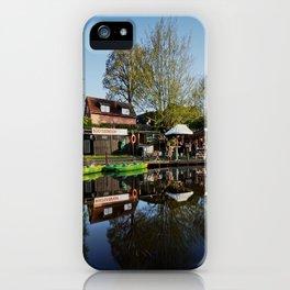 Bootsstation Bad Fallingbostel iPhone Case