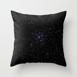 Star sky. Throw Pillow