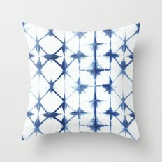 Shibori Thirteen Throw Pillow