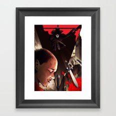 V (For Vendetta) Framed Art Print