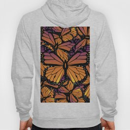 Fields of Monarch Butterflies (Butterfly) Hoody
