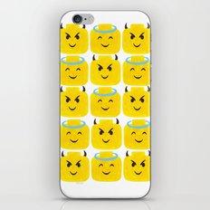 Emoji Minifigure Angel Devil iPhone & iPod Skin