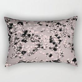 Blush Glitter Stars #1 #shiny #decor #art #society6 Rectangular Pillow