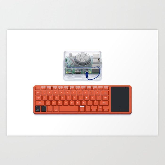 Kano Computer Kit Art Print by retronator | Society6