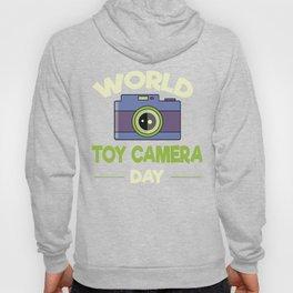 World Toy Camera Day Hoody