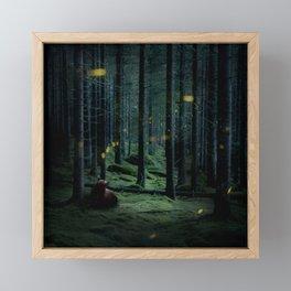 Finding the Light Framed Mini Art Print