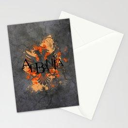 albania  Stationery Cards