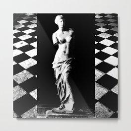 venus black and white 2nd ed  Metal Print