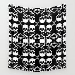 Saber Skulls Wall Tapestry