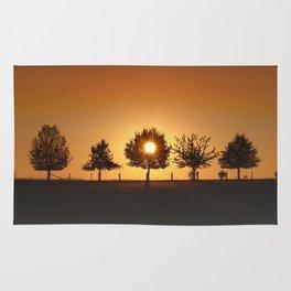Beautiful Nature Panorama Rug