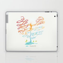 You heart Laptop & iPad Skin