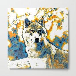 Impressive Animal - Wolf 2 Metal Print