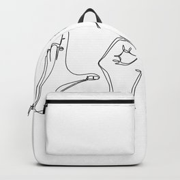 I Love You Hand Gesture  Backpack