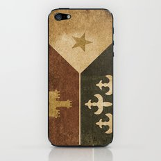 Acadian Flag iPhone & iPod Skin