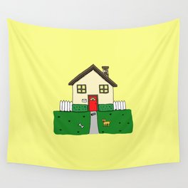 normal girl Wall Tapestry