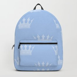 Louis Blue Crowns- Prince of Cambridge Backpack