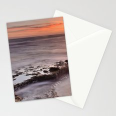 Red sunset Stationery Cards