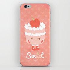 Sweet Cherry Cake iPhone & iPod Skin