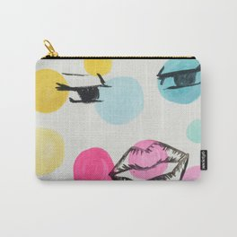 Superimposed Carry-All Pouch