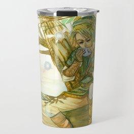 Link on tree Travel Mug