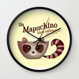 ¡Mapuchino! Wall Clock