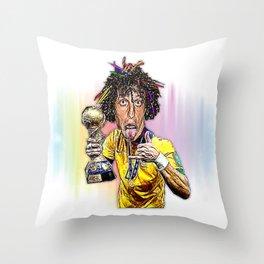 David Luiz Throw Pillow
