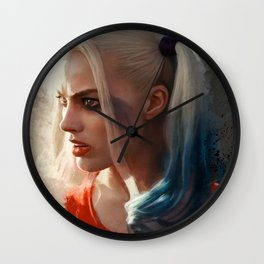Harley Quinn (suicide squad) Wall Clock