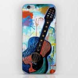 Metallic Guitar iPhone Skin
