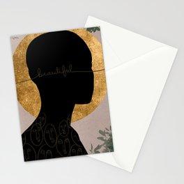 Bald & Beautiful Stationery Cards