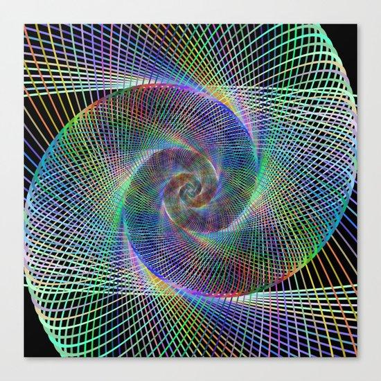 Fractal spiral Canvas Print