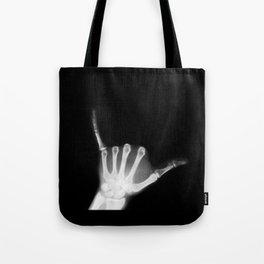 Hang Loose X-Ray Tote Bag
