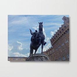 Piazza della Signoria, Florence Metal Print