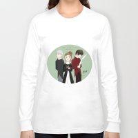 jem Long Sleeve T-shirts featuring Jem, Tessa, and Will by amiokae