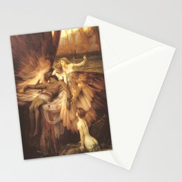 The Lament For Icarus By Herbert James Draper Stationery Cards