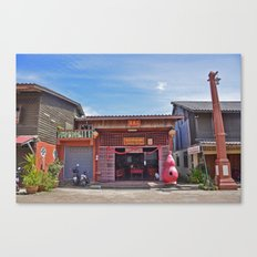 Old Town Koh Lanta Canvas Print