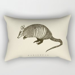 Armadillo power Rectangular Pillow