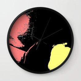 Digital Abstraction 012 Wall Clock