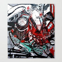Atto di colore #4 Canvas Print