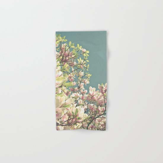 Magnolia in Bloom Hand & Bath Towel