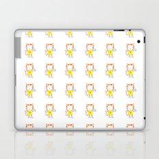 Ginger kitten watercolour Laptop & iPad Skin