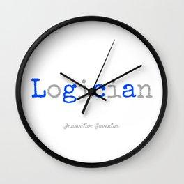 Logician Wall Clock