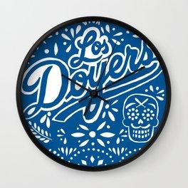 Viva Los Doyers Wall Clock